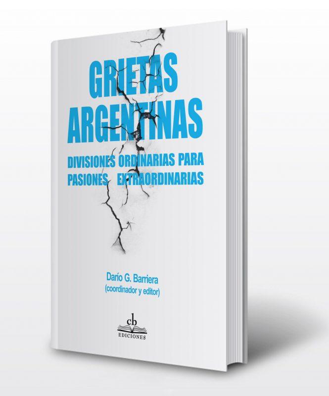 Tapa del libro Grietas argentinas